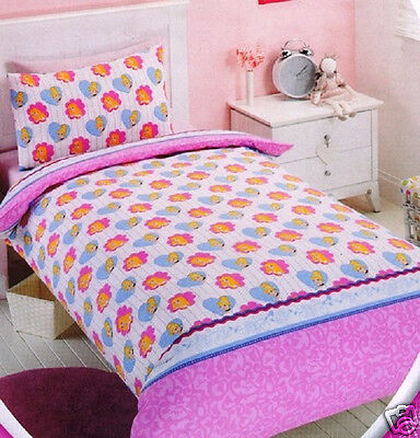 Disney Princess 'Ready to Sparkle' Single Twin Bed Quilt Duvet Cover Set