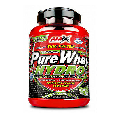 Hydro Whey Pure 1 Kg Fruit Punch Proteinas Amix Nutrition