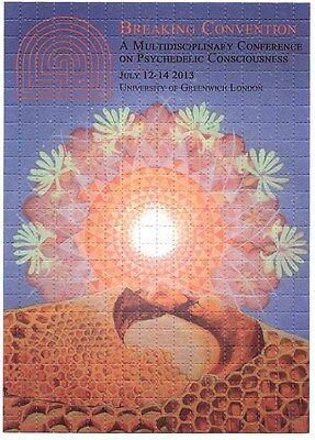 Breaking Convention 2013 Poster  High Quality Blotter - Clearance Sale