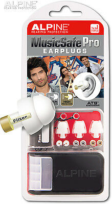 Alpine MusicSafe Pro Ear Plugs Musician Hearing Protection Concert Party Earplug
