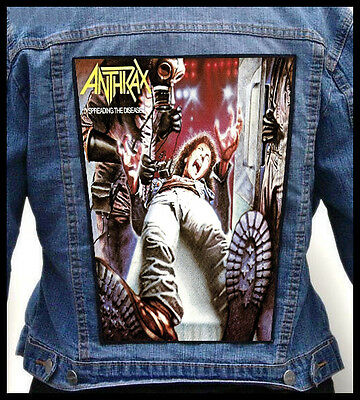 ANTHRAX - Spreading The Disease     --- Back Jacket Patch backpatch