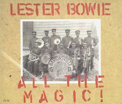 Lester Bowie – All The Magic! musicassette