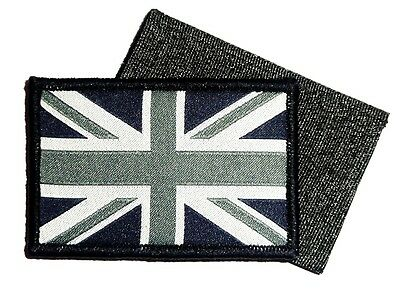 GB UNION JACK PATCH night ops velcro backed UBAC Military flag patch army forces