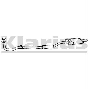 Front Exhaust Silencer Nissan Micra K10 1.0 NEW