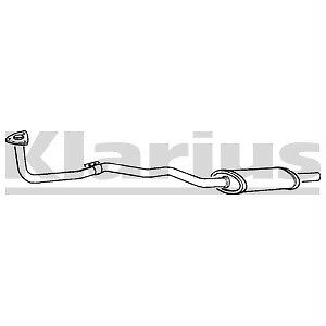 Front Exhaust Silencer Nissan Sunny 1.3 N13 NEW
