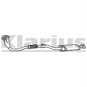 Front Exhaust Silencer Nissan Sunny 1.7D N13 NEW
