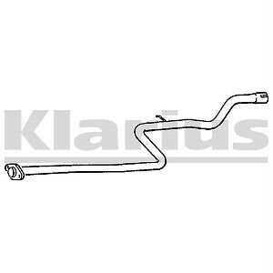Exhaust Centre Pipe Nissan Sunny 1.7D N13 NEW