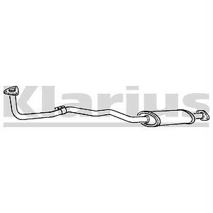 Front Exhaust Silencer Nissan Sunny N13 1.4 NEW