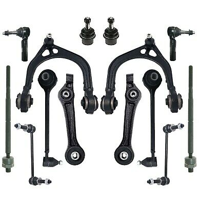 8 Piece Inner Outer Tie Rod End Lower Ball Joint Upper Control Arm