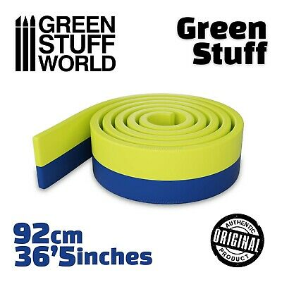 Green Stuff - 36.5 inches - Kneadatite Blue Yellow Duro - Warhammer 40k