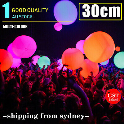 1X 12inches Glow Beach Ball Glow Sticks balls Party Glow in the dark Glowsticks