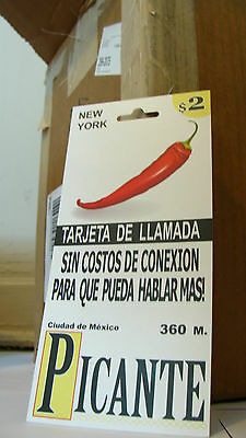 Mexico Calling Cards $2 Cheap International Phone Minutes - WHOLESALE LOT OF 30