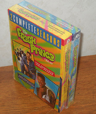 The Fresh Prince of Bel Air: Complete First Second Season 1 2 DVD Will Smith NEW
