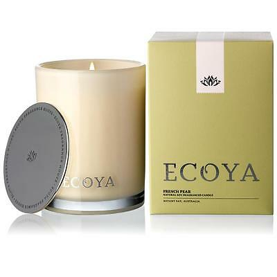 Ecoya French Pear Madison Jar Candle 400gm
