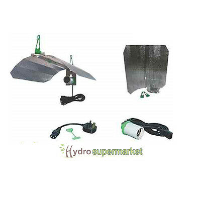 Lumii Maxii Dual Purpose Reflector Kit With Cfl Adapter,for 600W Grow Tent,room