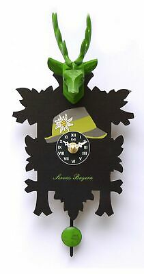 Kuckulino Black Forest Clock with quartz movement and cuckoo ch.. TU 3007 PQ NEW