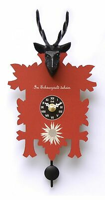 Kuckulino Black Forest Clock with quartz movement and cuckoo ch.. TU 3005 PQ NEW
