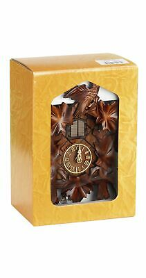 Quartz Cuckoo Clock 5 leaves, bird, with music, Gift-Boxed  TU 412 QM KSV NEW