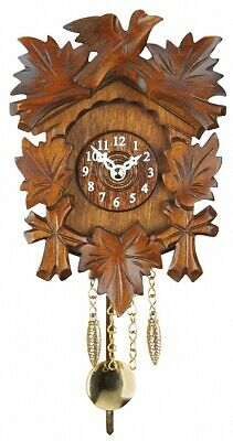 Kuckulino Black Forest Clock with quartz movement and cuckoo ch.. TU 2015 PQ NEW