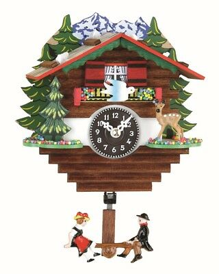 Black Forest Clock Swiss House  TU 59 SQ/01 NEW
