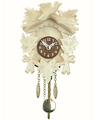 Black Forest Clock, incl. battery TU 20 PQ natur NEW