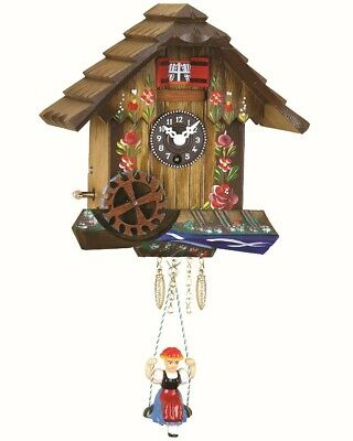 Black Forest Clock Black Forest House with music TU 75 SMB NEW