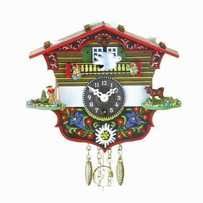 Black Forest Clock Swiss House TU 6 P NEW