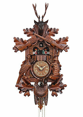 Adolf Herr Cuckoo Clock - The Hunter's Clock AH 375/1 MT NEW
