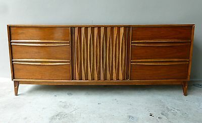 Great Best Quality Sculptural Mid Century Modern Danish Style Credenza Or Chest