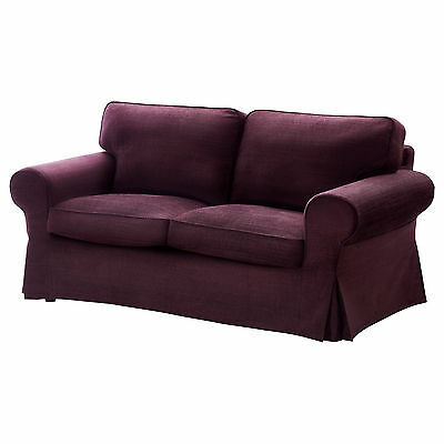 Ikea Ektorp loveseat cover Tullinge Lilac 2 seat sofa Slipcover Purple New NIP
