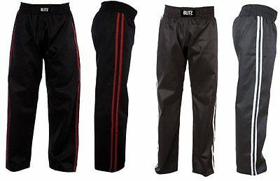 Blitz Kids Polycotton Kick Boxing and Martial Art Trousers