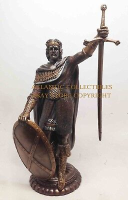 "Hero Scotland Independence Sir William Wallace Figurine Classic Statue 11"" Tall"