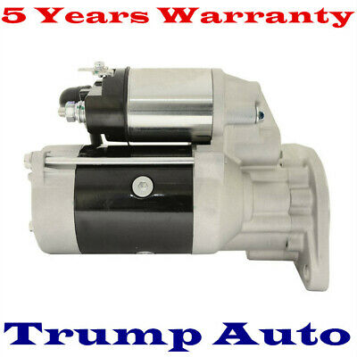 Starter Motor for Holden Rodeo TF RA 4JH1-TC 4JJ1 4JX1 3.0L Turbo Diesel 02-08