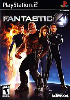 Fantastic 4 = Sony Playstion 2 Game =  PAL