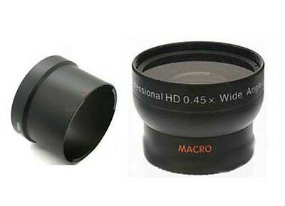 Wide Lens + Tube Adapter bundle for Kodak EasyShare Z710 ZD710 Z650 Z740 Digital