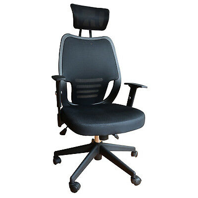 HOMCOM Mesh Office Chair Computer Ergonomic Desk Manager Conference New