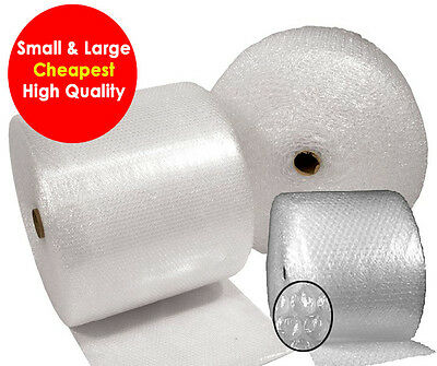 SMALL LARGE BUBBLE WRAP ROLLS 300mm 500mm 750mm 900mm 1000mm 1500mm 50m 100m