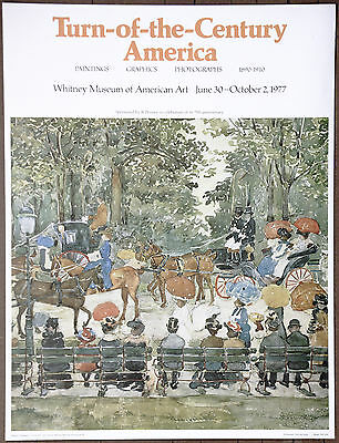 Maurice Pendergast  The  Whitney Museum of American Art 1977 Central Park NYC