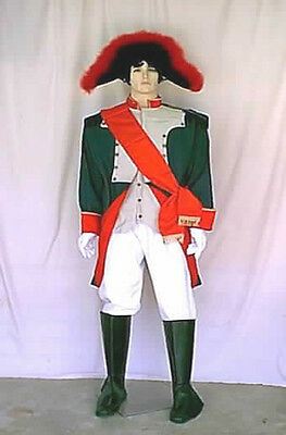 Napoleon Theatrical Military Complete Costume 1799 to 1815 Size Large