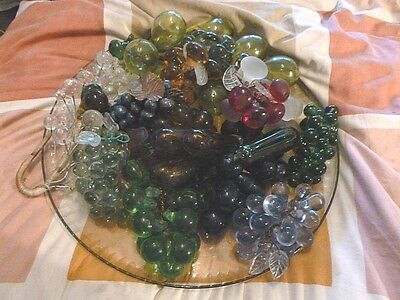 Very Large Assortment Of Mostly Murano Glass Fruits