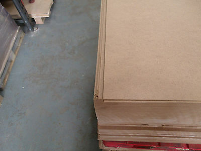"2mm Thick MDF Backing Board 1220 x 915mm (48"" x 36"") Pack of 10"