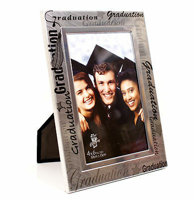 Black and Silver Graduation Photo Frame  Gift FA15646