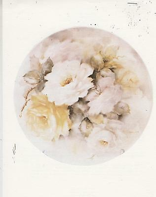 Study of Roses by Dorothy Berryman China Painting Study 1984
