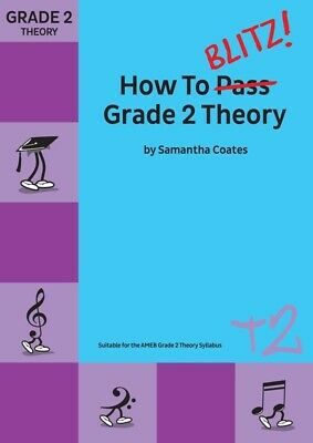 How to Blitz! Grade 2 Theory - Samantha Coates Book *NEW* Edition, AMEB syllabus
