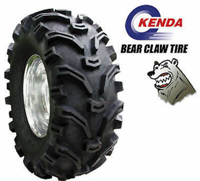 ATV TYRES 25 x 10 x 12 KENDA BEAR CLAW 6 PLY IN STOCK QUAD TYRE TRX YFM LTF