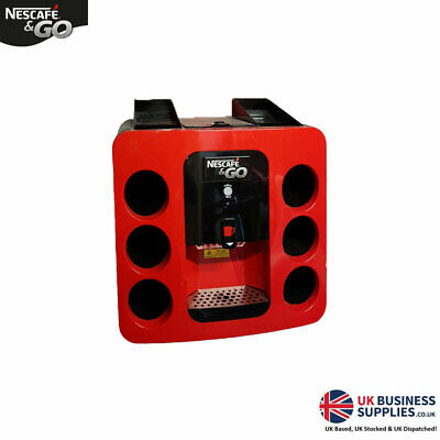 Nescafe Go Hot Drinks Machine Coffee Machine Free Pos & Board