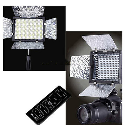 YongNuo LED Video Light YN-300 II Camera Camcorder For Canon Nikon 3200-5500k