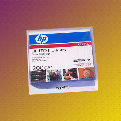 HP LTO 1, C7971A, 100/200 GB, Datenkassette Data Cartridge, NEU & OVP