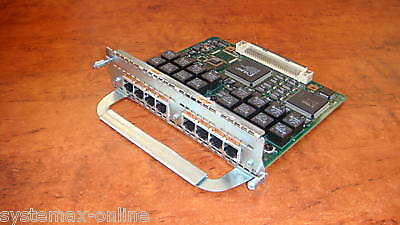 Cisco 8-Port ISDN BRI-S/T Expansion Module