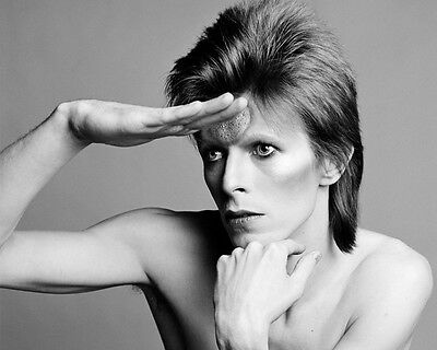 David Bowie The Look BW 10x8 Photo
